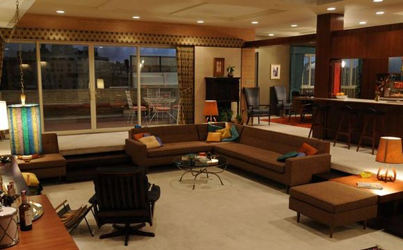 Apartamento Don Draper seriado Mad Men