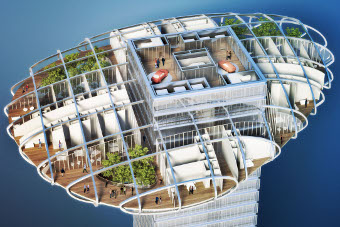 Vincent Callebaut Architectures-Asian Cairns-fazendas verticais-arranha-céus-china