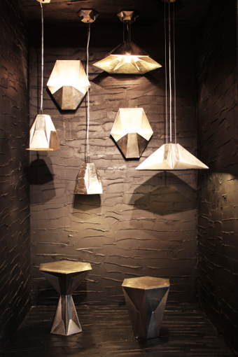 luminária-Tom Dixon-Gem-Rough and Smooth