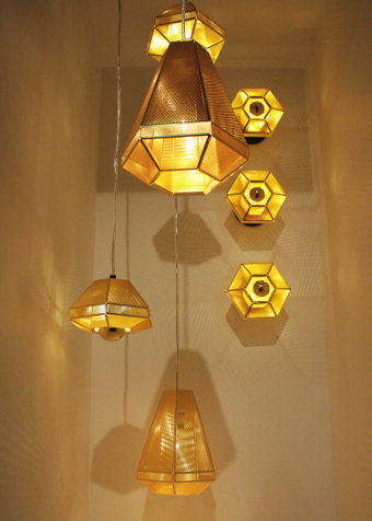 luminária-Tom Dixon-cell-Rough and Smooth